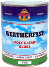 Weatherfast Poly Clear Gloss