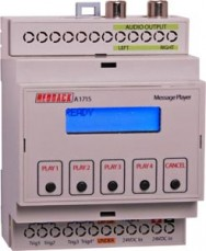 A1715 • DIN Rail MP3/SD Message Player