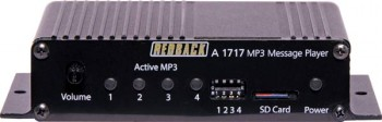 The A 1715 is an MP3 based message playe