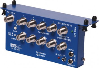 A1057 • RF380 Video I/R Hub 3 Input, 8 O