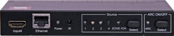 A3081B • 4 Way HDMI Switcher With Remote