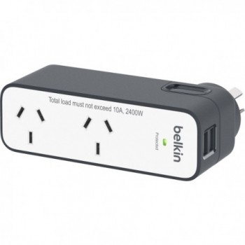 BELKIN Domestic Travel Surge with 2 USB