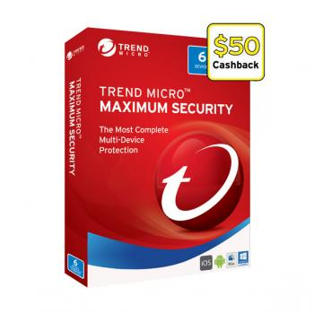 Trend Micro Maximum Security 2017- 1-6