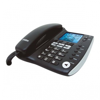 UNIDEN Corded Phone with Advanced LCD an