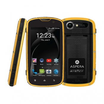 ASPERA R8 Rugged Smart Phone - NETWORK U