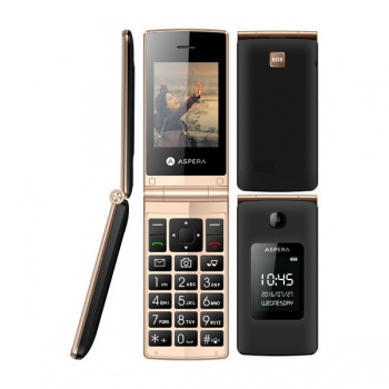 ASPERA F24 Unlocked Flip Mobile Phone -