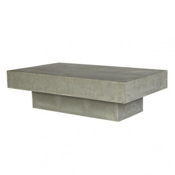 CABO RECTANGULAR CONCRETE COFFEE TABLE
