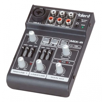 DIGITECH AUDIO Mini 3 Channel Mixer with