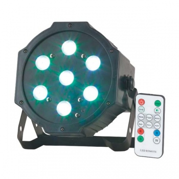 RAVE Stage Party light with 7 x 4W RGB L