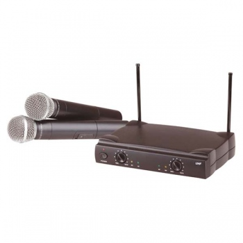 DIGITECH AUDIO 2 Channel Wireless UHF Mi