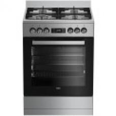 Beko 60cm Dual Fuel Freestanding Oven/St