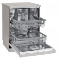 LG 60cm QuadWash Platinum Steel Freestan
