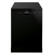 Smeg 60cm Black Freestanding Dishwasher