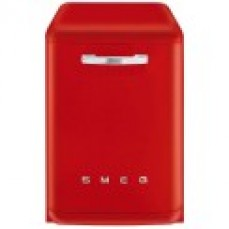 Smeg 60cm Red Retro Built-In Dishwasher