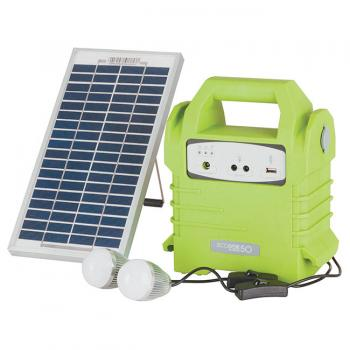 POWERTECH Solar Power Pack with LED Ligh