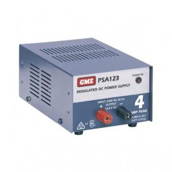 GME Regulated Power Supply (4 Amp Peak)