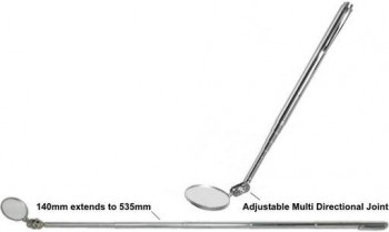 TELESCOPIC DENTIST MIRROR