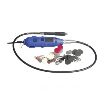 POWERTECH Rotary Tool Kit with Flexible