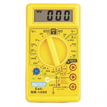 DIGITECH Digital Multimeter