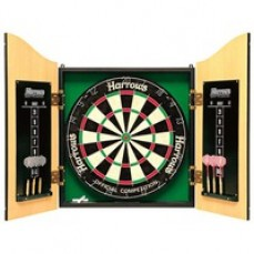 Harrows Pro Choice Dartboard and Cabinet