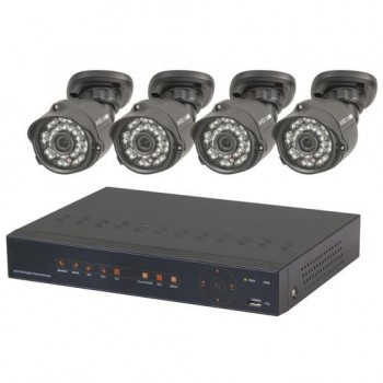 4 Channel 1080p AHD DVR + 4x720p Cameras
