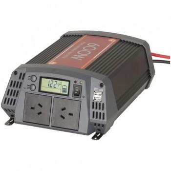 600W Pure Sine Wave Inverter with 20A So