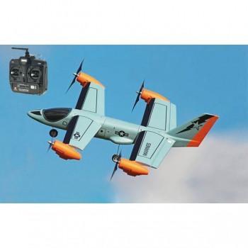 Ares V-Hawk X4 Hybrid RC Plane and QuadC