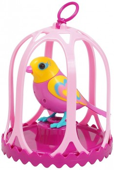 DigiBirds with Cage and Whistle Ring