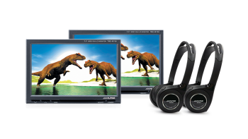 7″ Headrest Monitor System