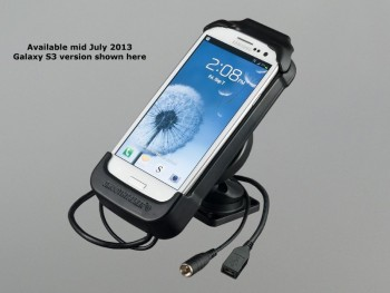GALAXY S4 DASHMOUNT HOLDER W/ ANTENNA