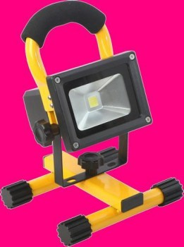 10W LED RECHARGEABLE FLOODLIGHT IP65