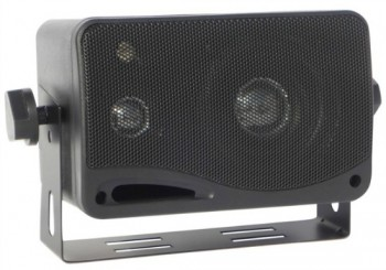 DNA 3� MARINE SPEAKER BOXE PAIR - BLACK
