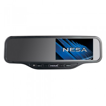 Rear View Mirror with 4.2″ Screen – Dual