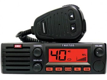 GME TX2720 4 WATT 27MHZ AM CB RADIO