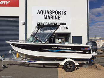 New Quintrex 530 Fishabout