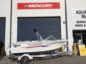 New Quintrex 450 Fishabout