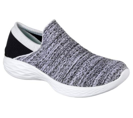Skechers You (White/Black) - Ladies