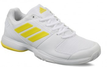 Adidas Barricade Court (White/Yellow) -