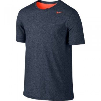 Nike Dry Tee 2.0 (Blue/Crimson/Black) -