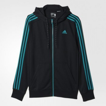 Adidas Essentials The Hood (Black/Green)