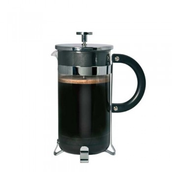 Chrome Coffee Plunger 3 Cup