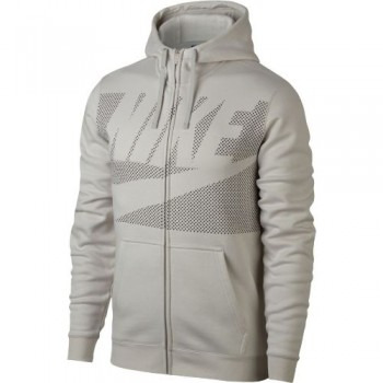 NIke Full Zip Hoodie (Light Bone) - Mens