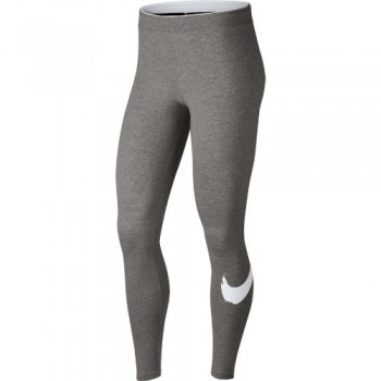 Nike Club Legging Swoosh (Grey/White) -