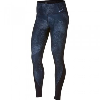 Nike Power Tight Print (Navy) - Ladies s
