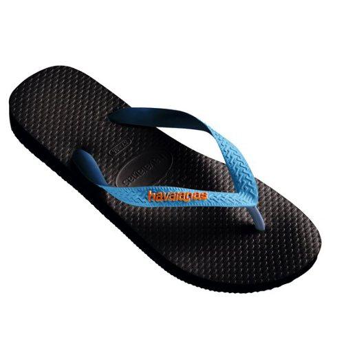 Havaiana Top Mix Thong (Black/Blue) - Ju
