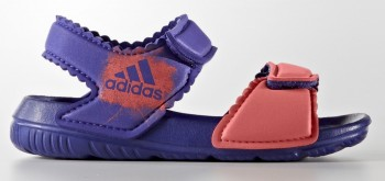 Adidas Altaswim (Purple/Coral) - Toddler