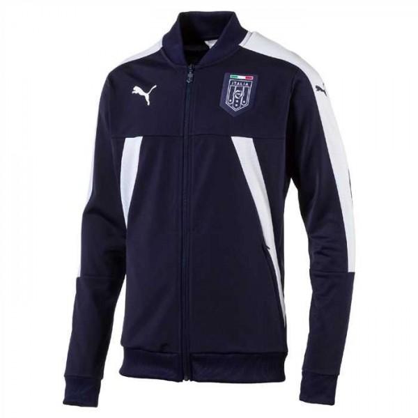 FIGC ITALIA STADIUM JACKET NAVY