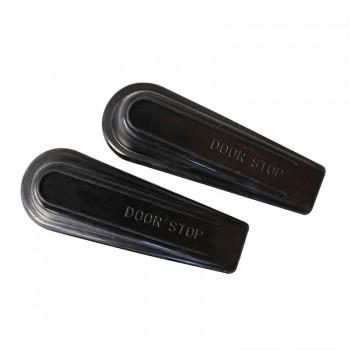 Door Wedge Pack of 2 Black