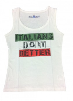 ITALIANS DO IT BETTER LADIES SINGLET