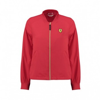 SF FW WOMENS BOMBER JACKET Red